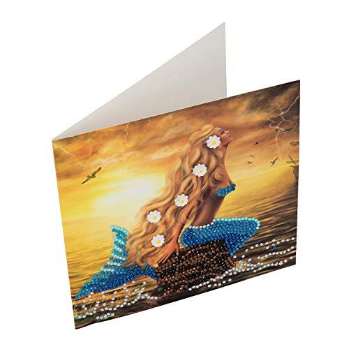 CRYSTAL ART Crystal Card Kits 18x18cm, Mulitcolor, 18x18