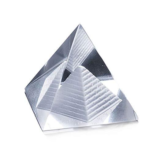 Singeru 2.3 / 3.1 / 4 Pulgadas Prisma de pirámide de Cristal Prisma óptica Foto apoyos (10cm)