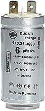 Kondensator Anlauf- Motorkondensator 6 µF uF 425/475V für Trockner Electrolux AEG..