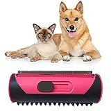 Cepillo para perros, cepillo para depilar para mascotas, cepillo para perros, cepillo para gatos, cepillo para pelusa para pelo de gato y perro, herramienta de cuidado para mascotas