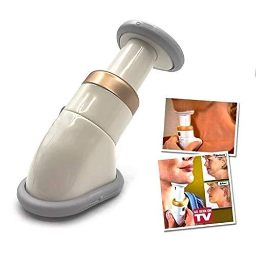 Jinxuny nackslimmare nacktränare hakmassageapparat raffinerande ton bärbar haka käke massage hals smalare urringning tränare minska dubbel haka rynkor borttagning ansikte liv verktyg