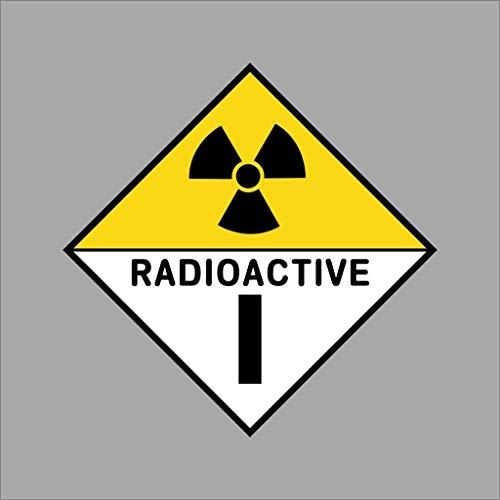 Wandaufkleber 3D Wandtattoo Radioaktives Vinyl Aufkleber Aufkleber Autofenster Wand