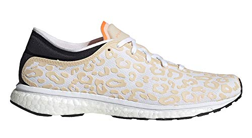 adidas Adizero Adios S, Zapatillas de Running Mujer, Rosa (Soft Apricot/Smc/Solar Orange/Vivid Yellow Soft Apricot/Smc/Solar Orange/Vivid Yellow), 38 2/3 EU