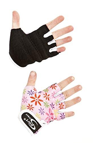 Sport DirectTM Fahrrad Kinder Mädchen Lycra Handschuhe Rosa X klein