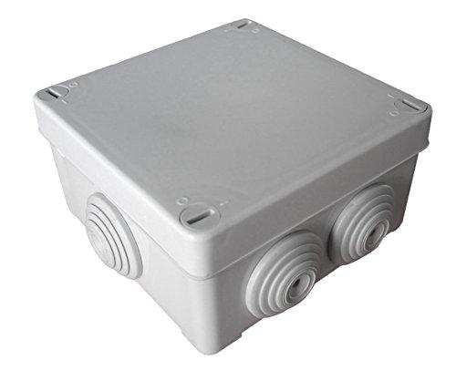 Boîte de dérivation étanche carrée IP55 - 100x100mm Prof. 50mm