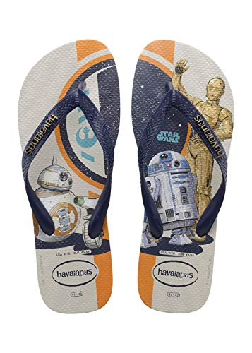 Chinelo Star Wars, Havaianas, Adulto Unissex, Azul, 41/42