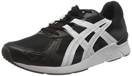 ASICS Mens Gel-Lyte Runner 2 Running Shoe, Black/White, 43.5 EU
