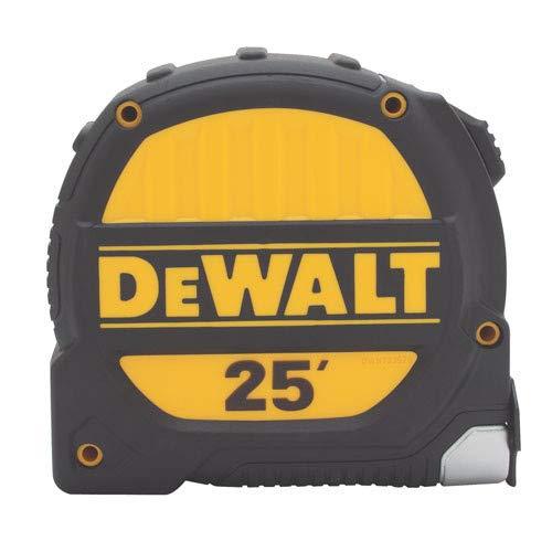 dewalt measuring tapes DEWALT DWHT33975L 25' Metal Impact Polyester Coated 1-1/4