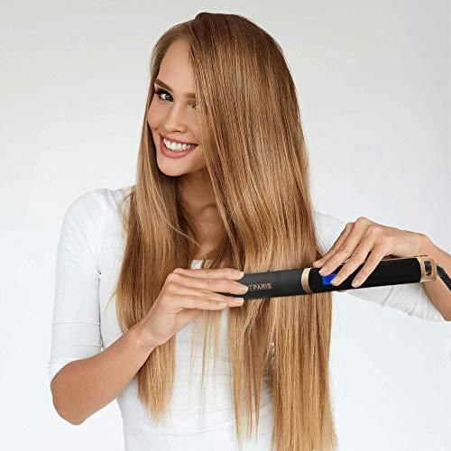 MadameParis – Plancha de pelo con infrarrojos Nina, plancha de pelo...