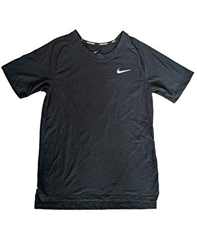 Nike Women's Dri-Fit Breathe Tailwind Running Top (Small, Black)