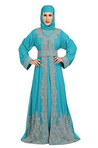 Maxim Creation 5705 - Vestido de novia de Georgette Dubai árabe