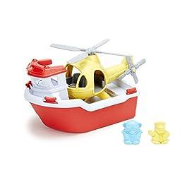 giochi per bagnetto - battello di emergenza con elicottero