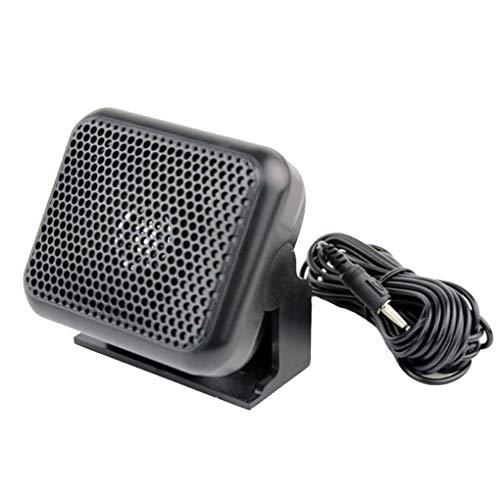 Weilifang NSP-100 Altavoz Externo 3.5mm Altavoz Compatible con el Altavoz para el Yaesu ICOM Equipo de Radio