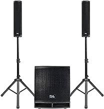Seismic Audio - Apex-12D - Column Line Array Speaker System - 1600 Watt 12