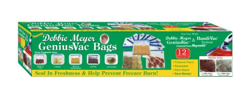 Debbie Meyer GeniusVac Bags, 12 Count Gallon -  Resource Partners Enterprises LLC, DMGV12G