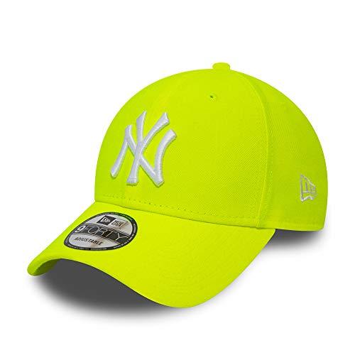 New Era York Yankees MLB cap Verstellbar 9forty Basecap Kappe Neon Gelb - One-Size