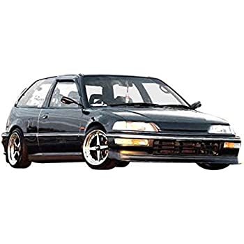 Made in the USA! Guaranteed Fitment KBD Body Kits Compatible with Honda Civic 4DR 1992-1995 MU Spec Style 1 Piece Flexfit Polyurethane Front Lip Easy Installation Extremely Durable