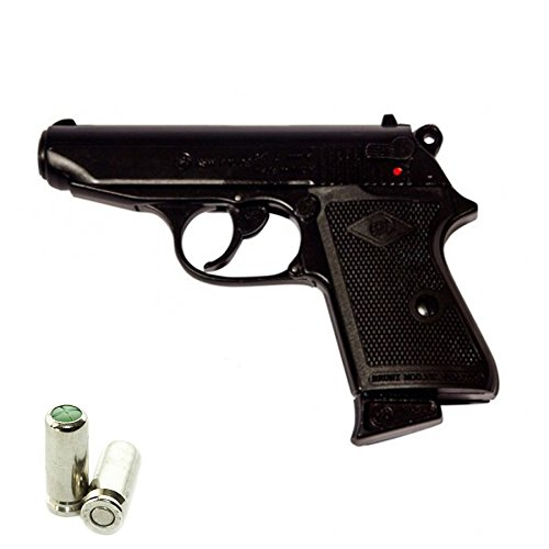 Pistola a Salve BRUNI Walther PPK New Police Cal.8 | Top Firing | Nera