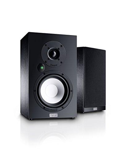 Magnat Multi Monitor 220 | Aktives Lautsprecherset mit aptX Bluetooth, Phono-Eingang und Fernbedienung | Komplettsystem für Vinyl- und Streaming-Nutzer, Schwarz