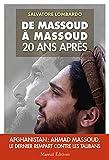 De Massoud a Massoud 20 ans apres