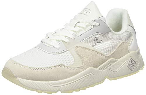 GANT FOOTWEAR PORTLAND, Herren Sneaker, Weiß (off white G20), 42 EU (8 UK)