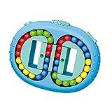 Cube Magic Bean,Magic Cube Little Magic Beans Spielzeug,Intelligence Fingertip,Dekompressionswürfel,Gyroskop Puzzle,Kreatives Lernspielzeug, Rotierender Fingerwürfel, Color Magic Bean IQ Game