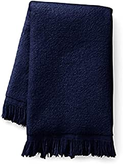 Show Car Guys Navy Blue Fringed Fingertip Towels - 100% Cotton - Terry-Velour - 4 Pack 11