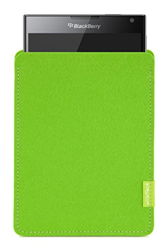 WildTech Sleeve für BlackBerry Passport Hülle Tasche - 17 Farben (Handmade in Germany) - Maigrün