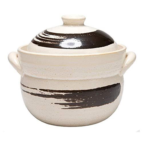 YAMMY Olla de Barro para arroz, Olla de Barro Japonesa Olla de...