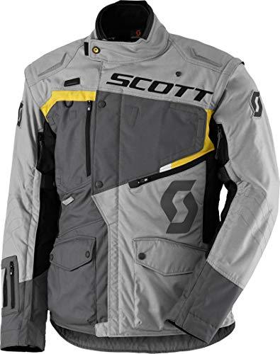 Scott Dualraid DP Veste de moto Gris/jaune 2018 Taille : XL (52/54)
