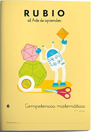 Competencia matemática RUBIO 6