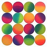 Entervending Bouncy Balls - Rubber Balls for Kids - ICY Bounce Balls - 25 Pcs Large Bouncy Ball 45 mm - Super Ball...