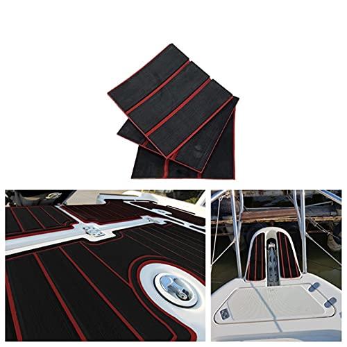 Estera de la cubierta del barco 2300 * 900 * 6mm Bañera de hidromasaje Marina Pisos antideslizantes Marin Marts de la cubierta del yate Pisos de teca cubierta de la cubierta de la hoja de la c
