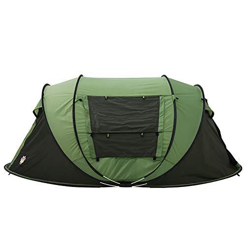 XIAMIMI Handwerfen Frei Bauen 5-6 Personen 1 Sekunde Geschwindigkeit Offenes Zelt Automatische Familienreise Strand Camping Zelt