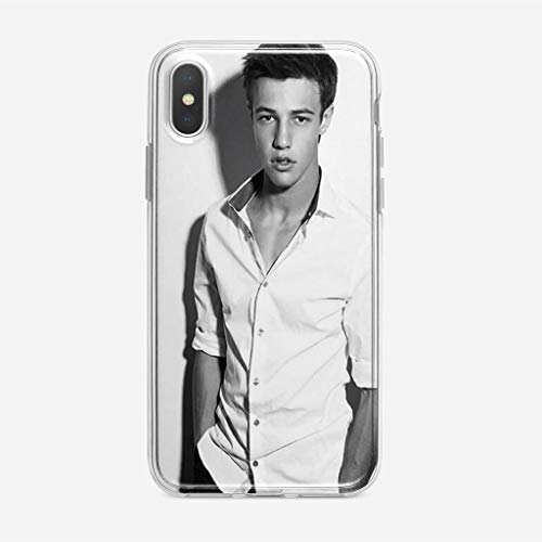 KOUHONGYU Cover iPhone 7 Plus/iPhone 8 Plus Case Clear Transparent Soft TPU Cases Buf FY Collage Phonec_150