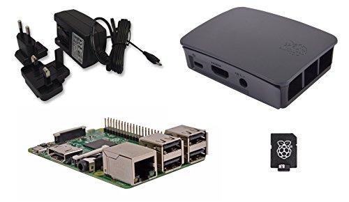 Raspberry Pi 3Official Desktop Starter Kit 8GB Black