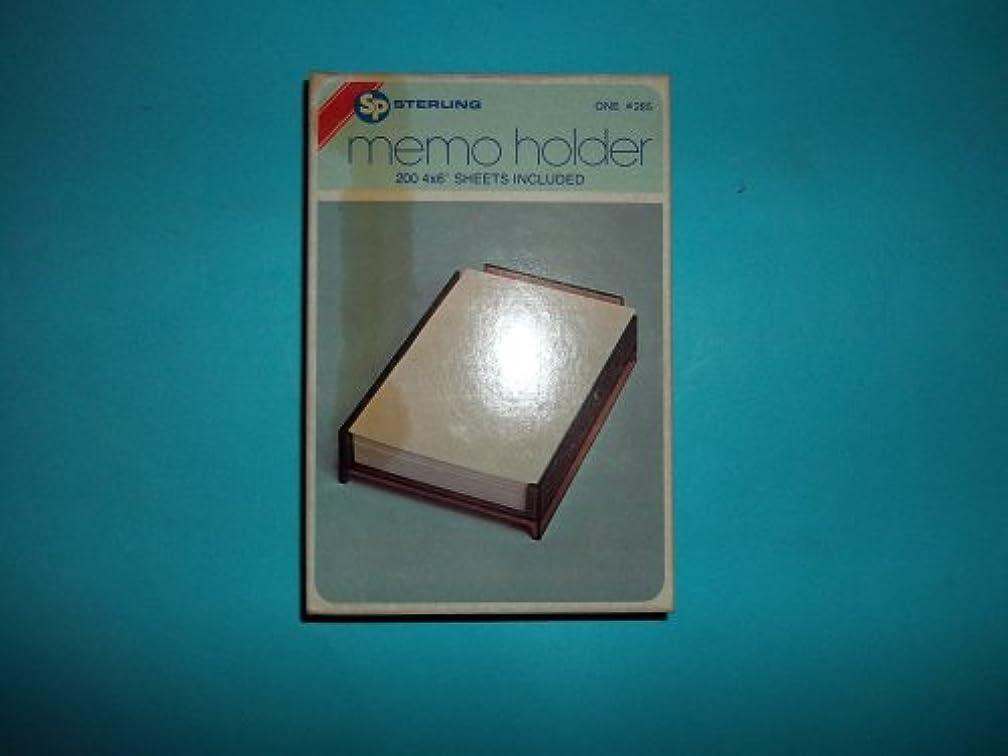 Sterling, Memo Holder, #285, 200 4