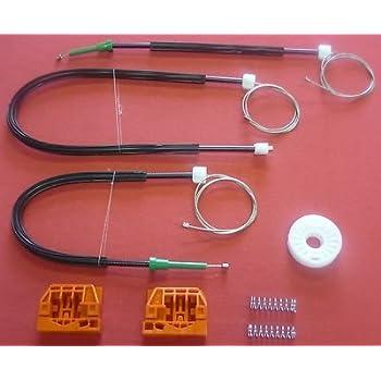 Vw touran Avant Droit Lève vitre Kit de réparation set 2003-2010 4//5 porte