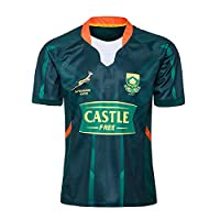 2020 South African Sevens Home and Away Rugby Jersey S-5XL,Green,M by WYKKLLFC