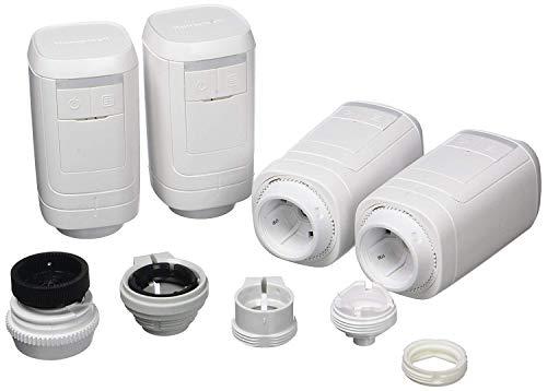 Honeywell Home HR914EE evohome Heizkörperregler zur Heizungssteuerung per App und WLAN, Paket 4X, weiß