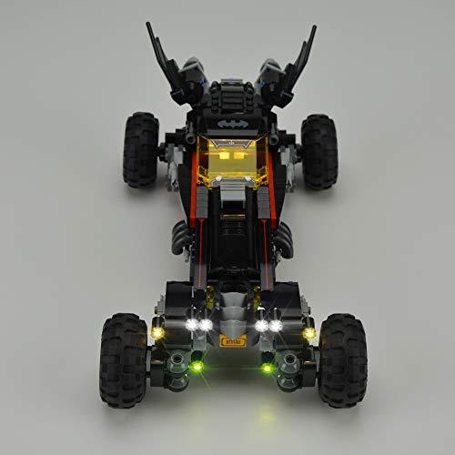 Kit De Iluminación LED para Lego The Batman Robin`S Mobile Building Model Light Set Compatible con 70905 (No Incluye El Modelo)