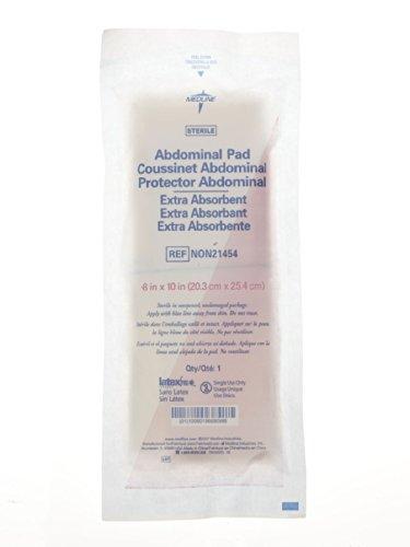 Medline Sterile Abdominal Pads, 8