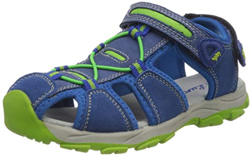 Lurchi Jungen Boris Geschlossene Sandalen, Blau (Cobalt 29), 28 EU
