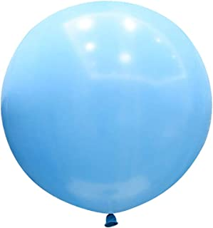 CY Mylar 36 Inch Giant Latex Balloons 6pcs High Quality Round Balloons Large Balloons for Baby Shower/Photo Shoot/Birthda...