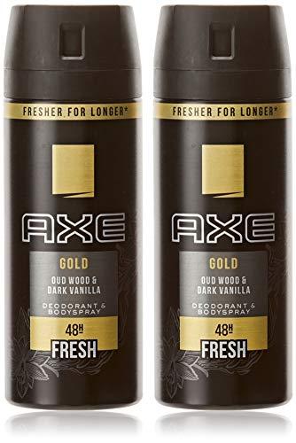 Axe - Gold Desodorante -Pack 2 x 150 ml