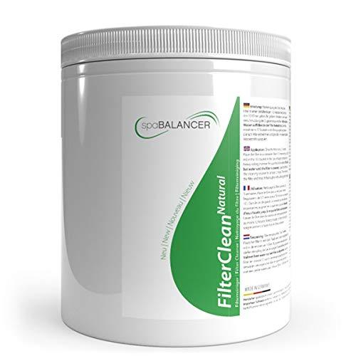 SpaBalancer FilterClean Natural New 950g, umweltfreundlicher Spezialreiniger für Whirlpoolfilter