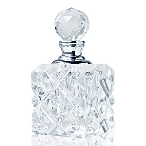 H y D 5ML Claro Vintage de vacío Mini recargable frasco de Perfume para Viajes