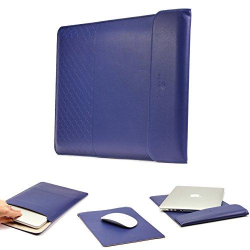 Funda Universal 15,4 Pulgadas, Gearmax Estuche Ordenador Portátil, Tablet Funda de Viaje Protección Sleeve Bolso en Azul, Laptop MacBook Notebook iPad Samsung Tab ASUS