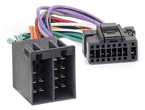 Audioproject A397 - Radio-Adapter Stecker ISO kompatibel mit Alpine CDA CDE RM R RB E RI CDM FLEX Auto-Radio Stecker Adapter