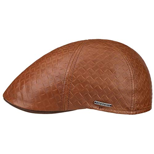 Stetson Gorra Texas Embossed Lambskin Hombre - Made in The EU de...
